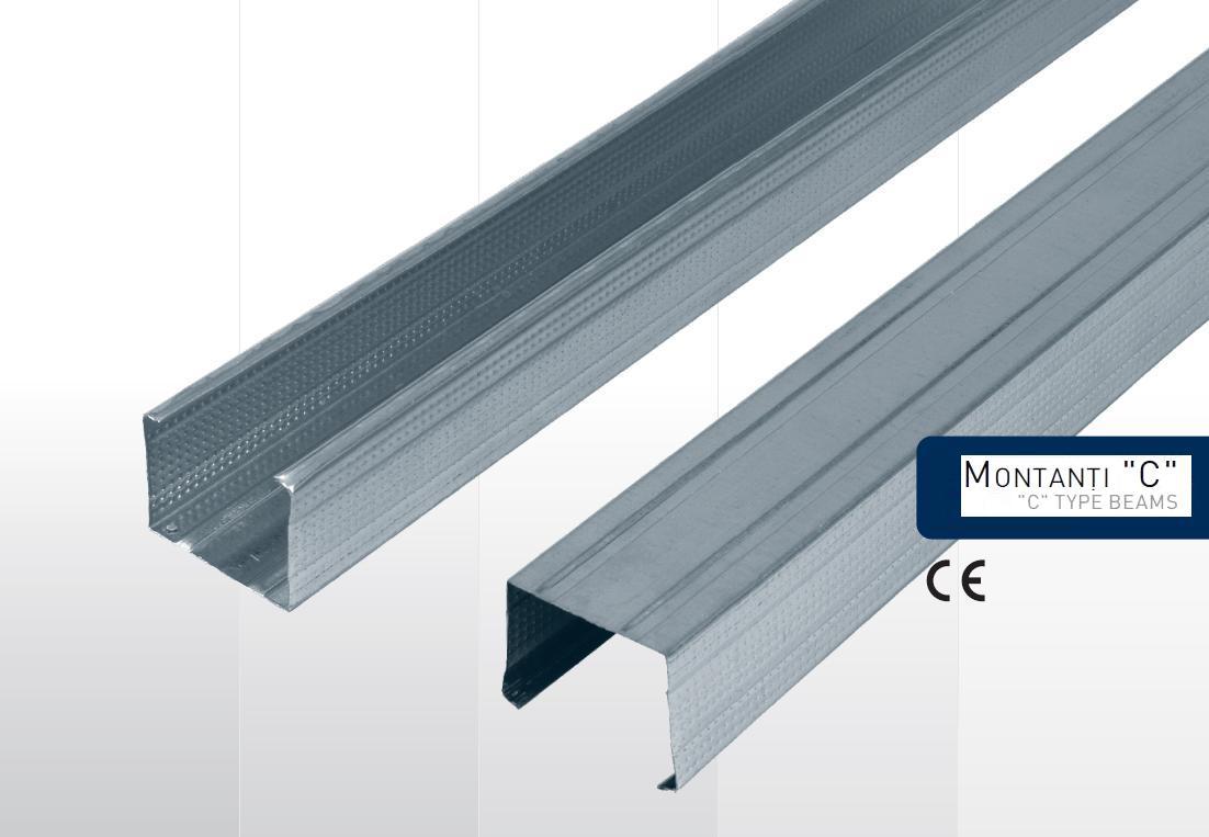 montan i c norma din profile metalice sisteme gips carton profile confectii metalice metalwork. Black Bedroom Furniture Sets. Home Design Ideas