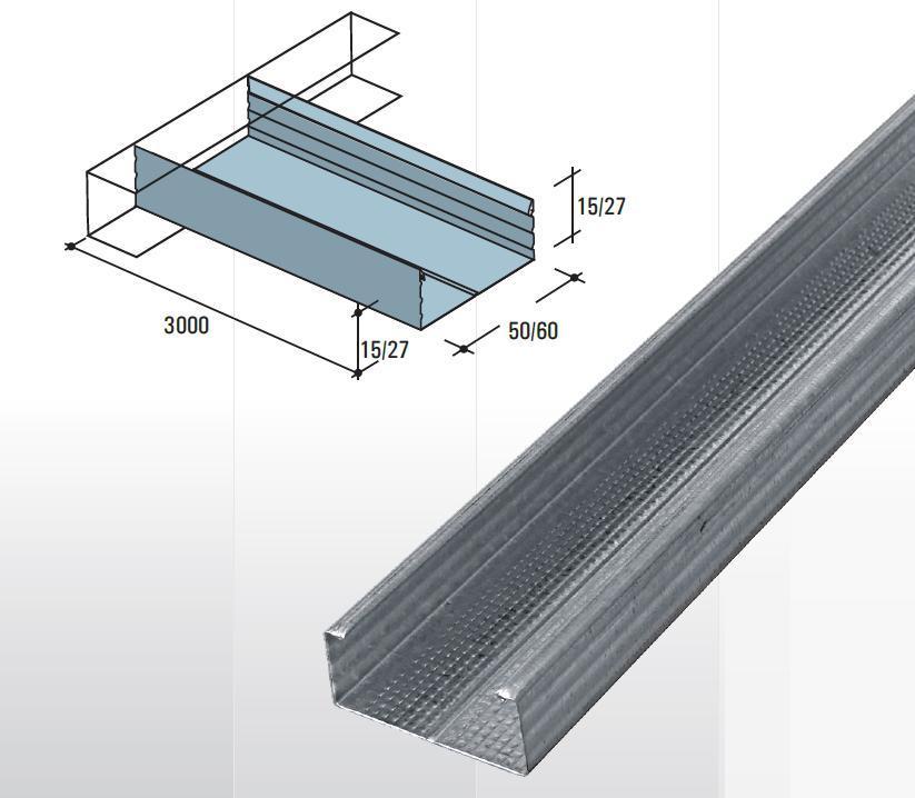 profile portante profile metalice sisteme gips carton profile confectii metalice metalwork. Black Bedroom Furniture Sets. Home Design Ideas